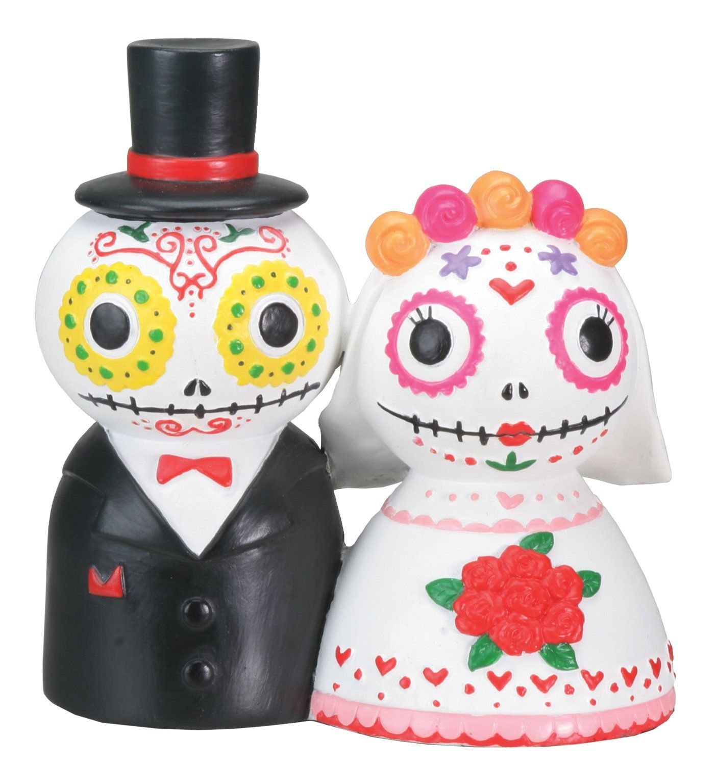 Day Of The Dead Wedding Couple Decoration - Click The Image To Buy ...