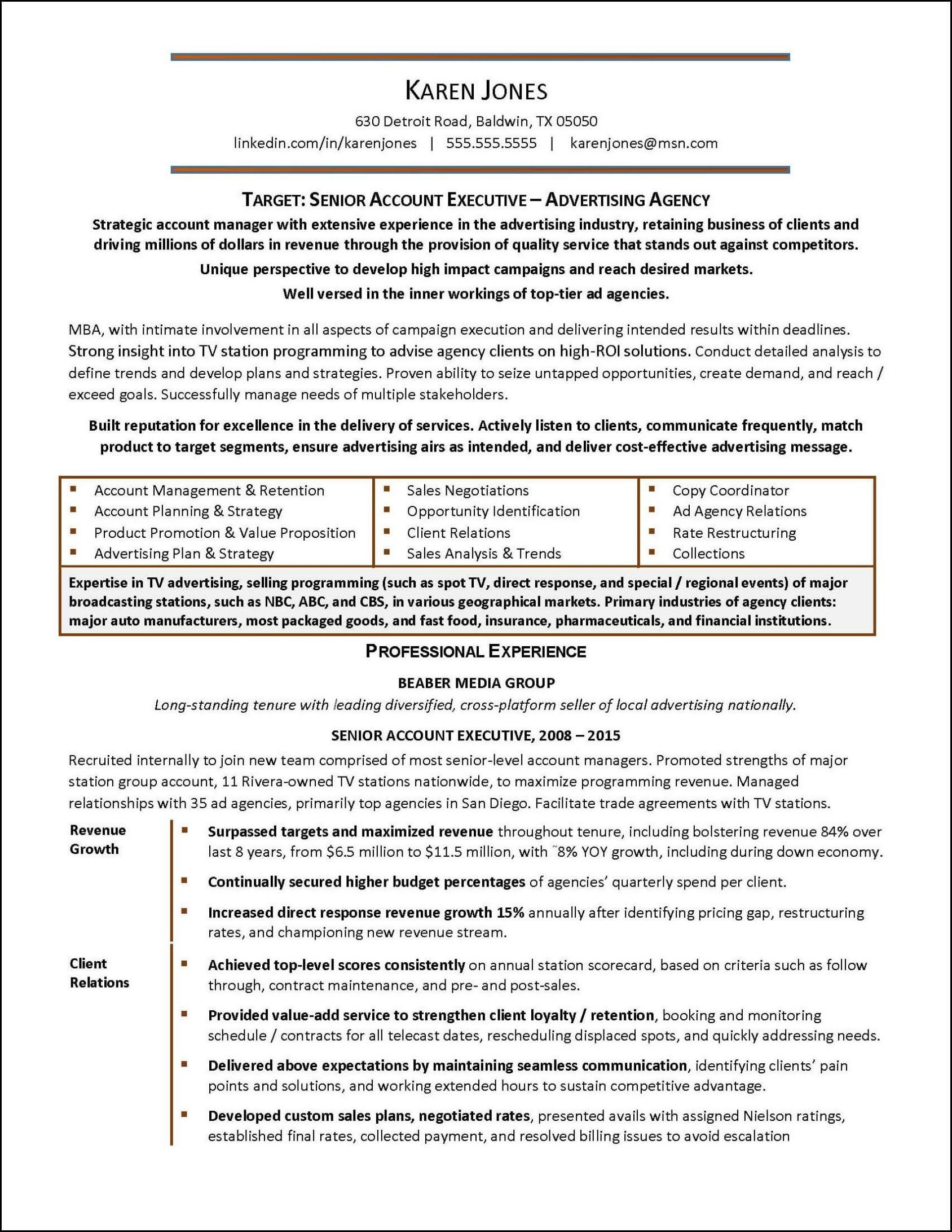 Advertising Account Executive Resume Beauteous 101  Pinterest  Resume Examples And Template
