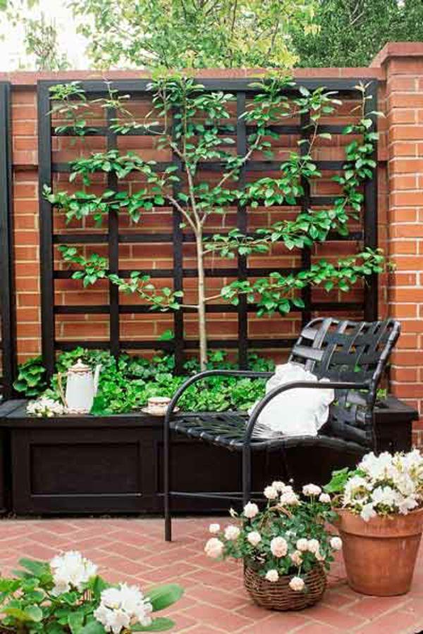 La jardini re avec treillis vous aide r aliser une d coration superbe treillis treillage - Jardiniere avec treillis ...