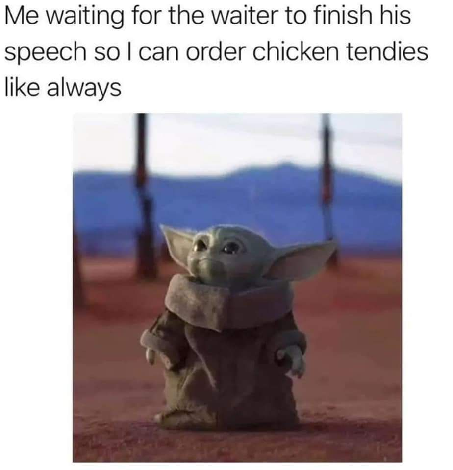 17 Baby Yoda Memes To Save You From The Dark Side Yoda Funny Yoda Meme Funny Relatable Memes