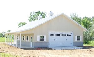 36 X 48 W 8 Porch Amp Greenhouse Troy Built Buildings