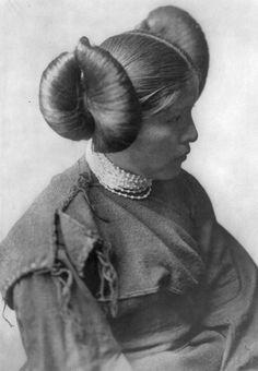 Hopi indian hair tutorial - Google Search