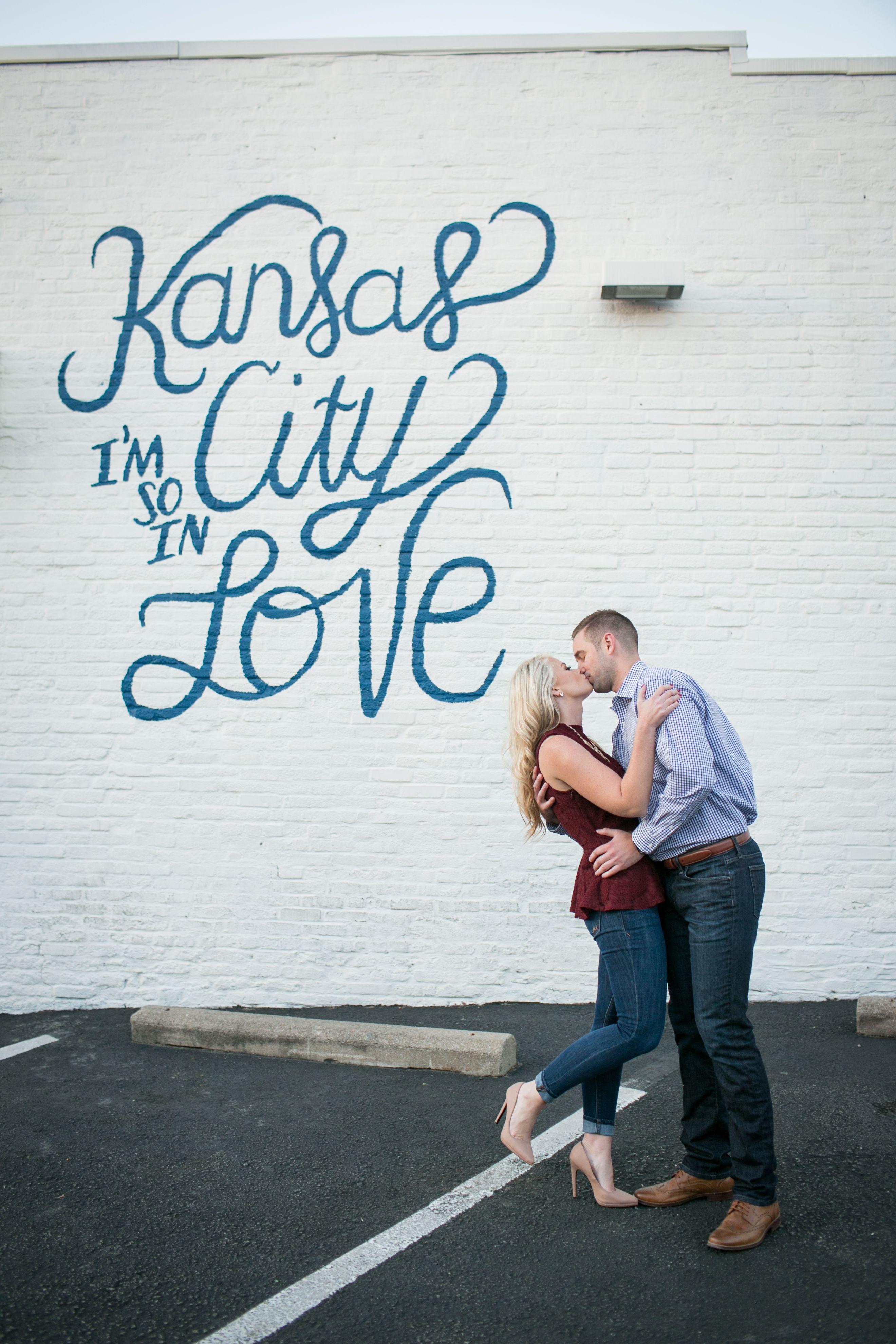 Kansas City so in love sign, wall art, downtown Kansas city ...