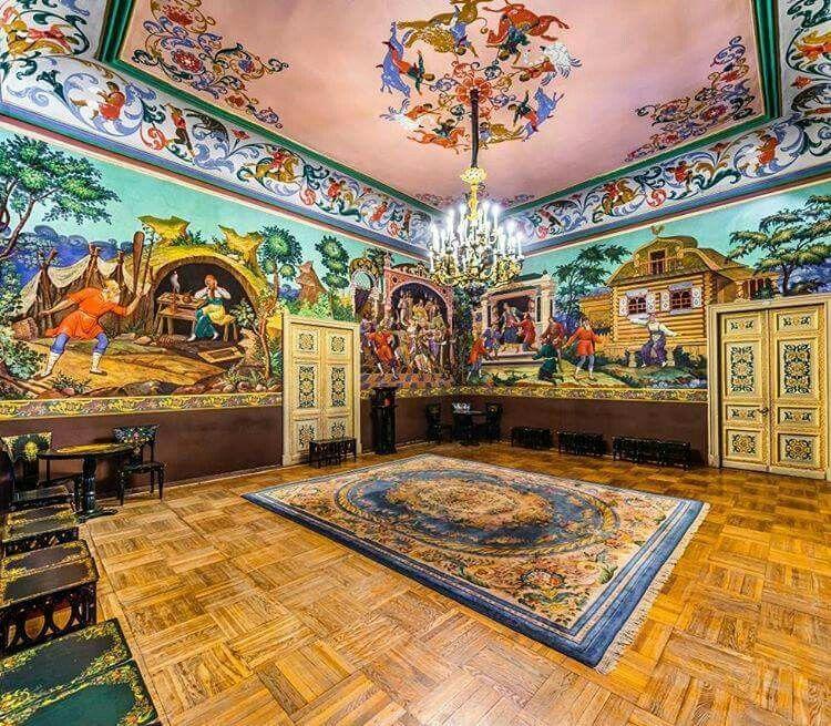 """Inside Anichkov Palace. """"AL"""""""