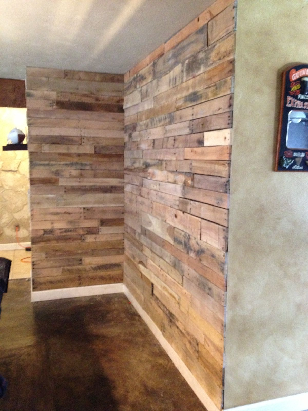 recycled wood pallet project | For My Home | Pinterest