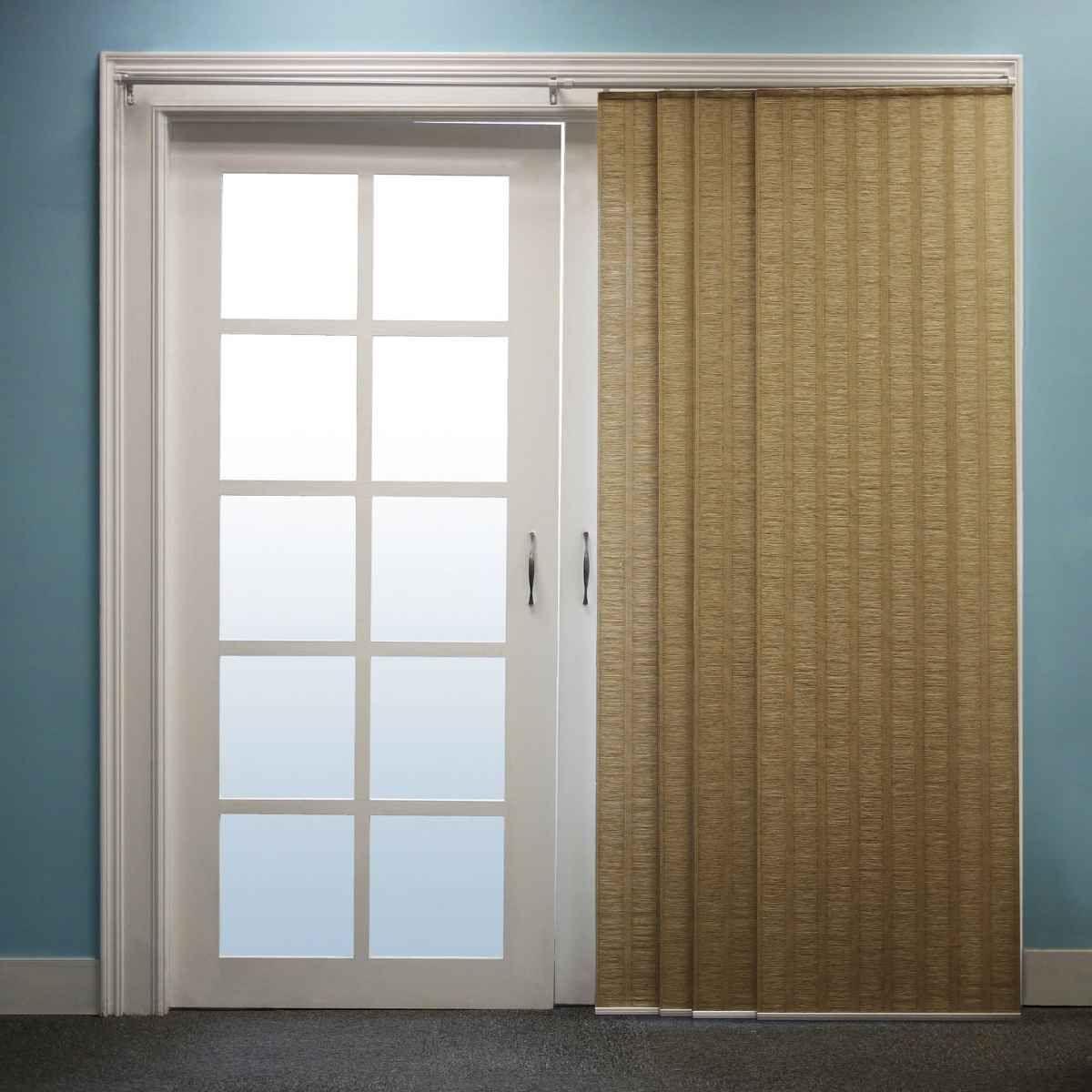 chicology adjustable track sliding panel decor ideas doors sliding glass door glass door. Black Bedroom Furniture Sets. Home Design Ideas