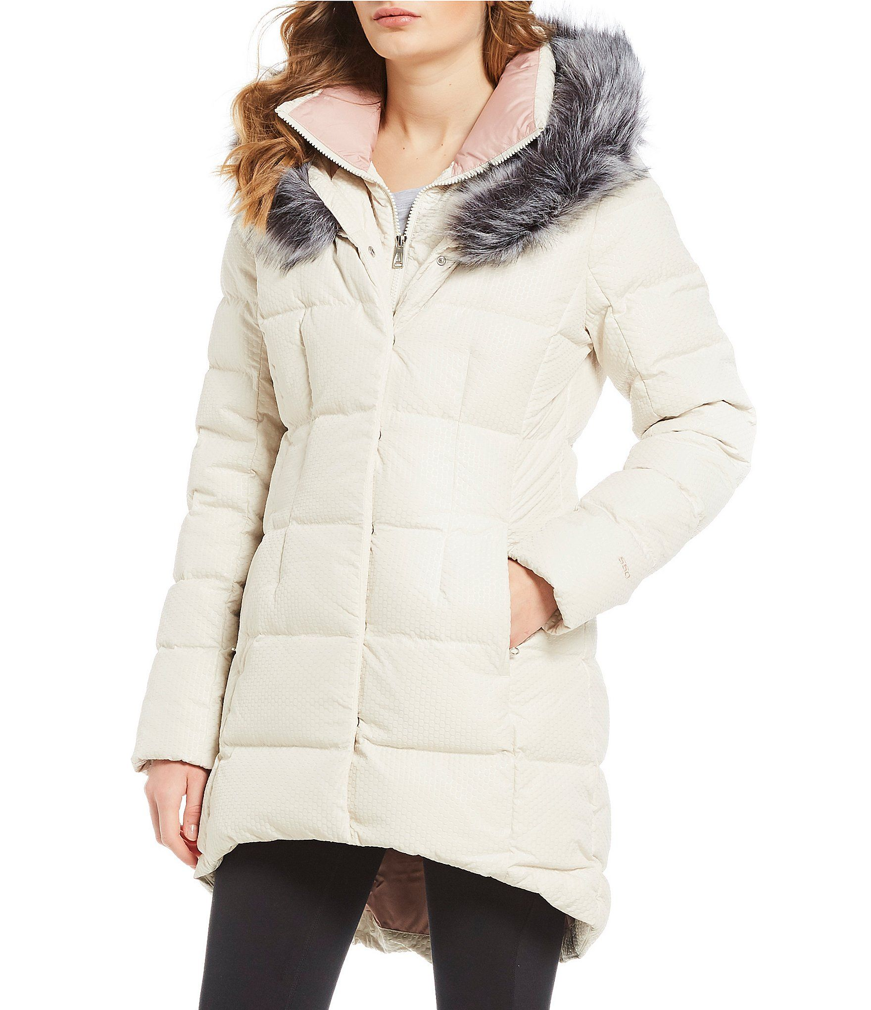 The North Face Urban Exploration Hey Mama Faux Fur Trim ...