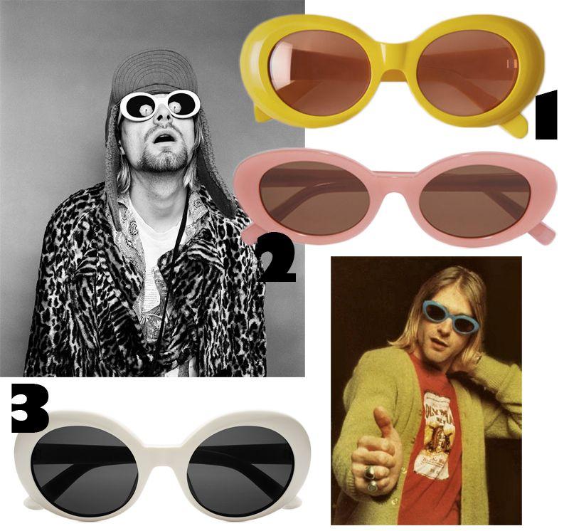 3 goodies: The Kurt Cobain glasses | Glasses, Kurt cobain