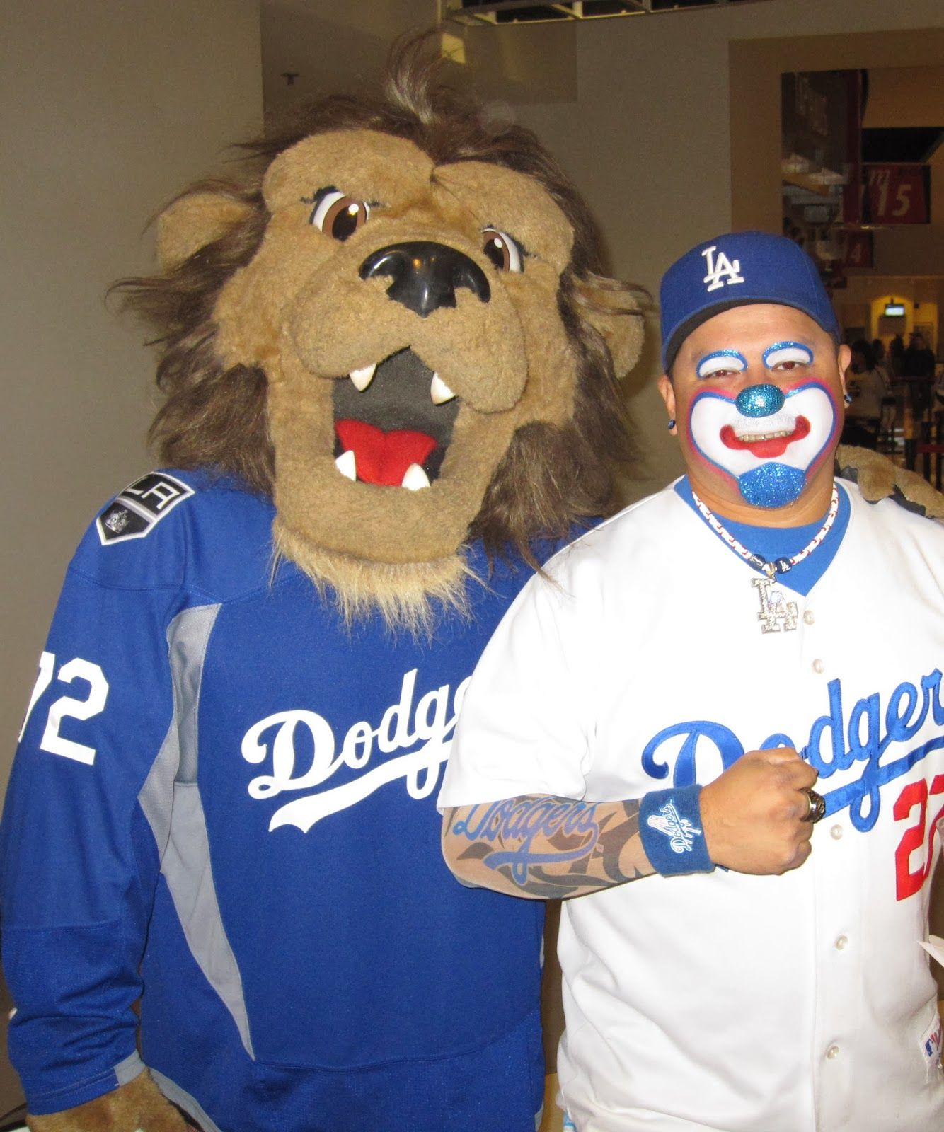 75e32b5efca Some Fan Photos from Last Nights Dodgers Pride Night  Including ...