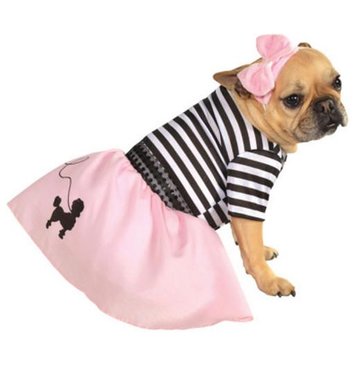 The 50 S Girl Dog Halloween Costume Is A 100 Polyester Pink And