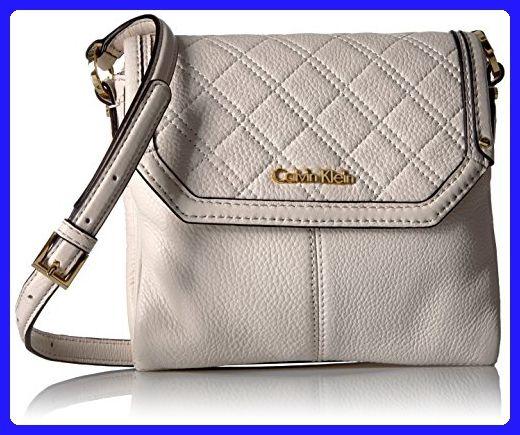 Calvin Klein Permanent Quilted Pebble Flap Crossbody White Crossbody Bags Amazon Partner Link White Crossbody Bag Crossbody Bag Leather Shoulder Bag