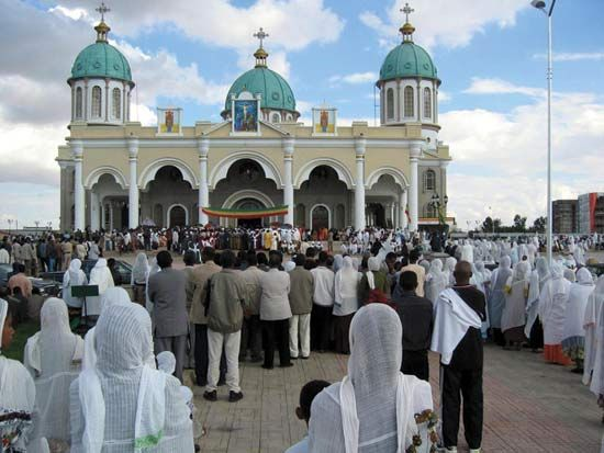One Of The Most Famous Churches In Ethiopia Is The Ethiopian