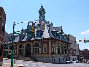 Clarksville Museum and Cultural Center built in 1898