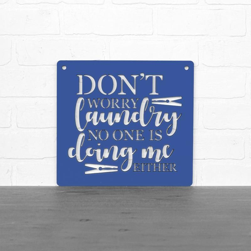 Don't Worry Laundry - Wood Sign | Carved wood wall art ...