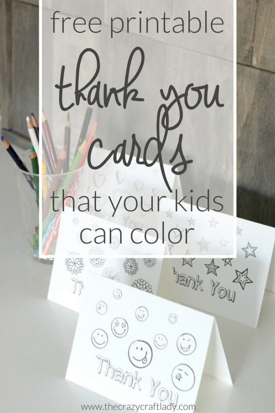 Printable Thank You Card Coloring Sheets Printable Thank You