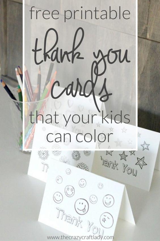 Printable Thank You Card Coloring Sheets Printable Thank You Cards Printable Coloring Cards Printables Free Kids