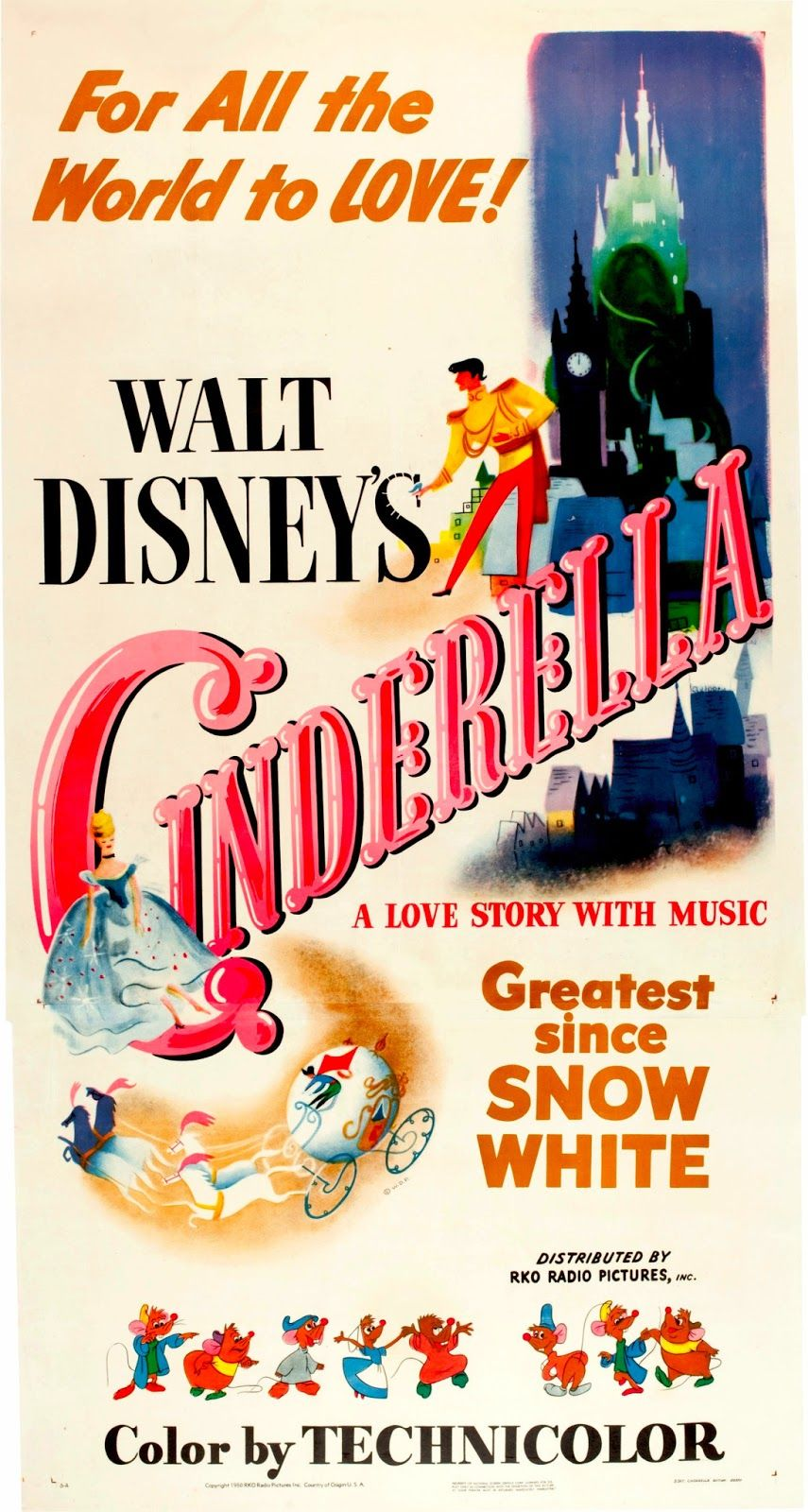 Another classic movie poster. Vintage disney posters
