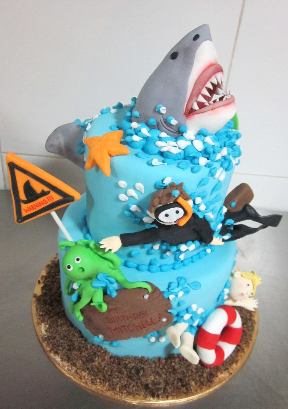 Shark Cakes Little Collins Bakery Florist November 2017