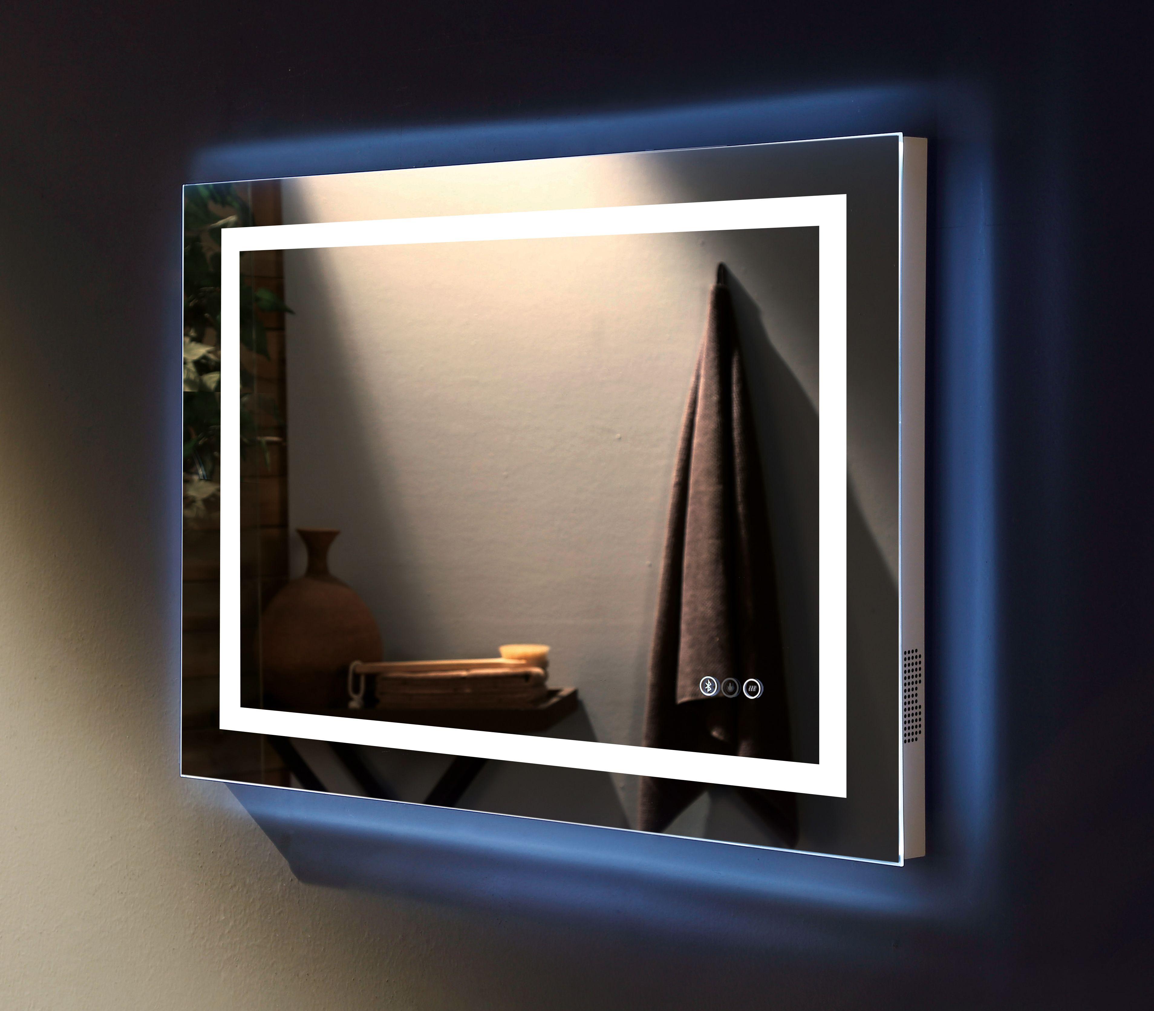 Bathroom lights bathroom wall lights artemis 900 rounded led strip - Led Vanity Mirror In Bathroom