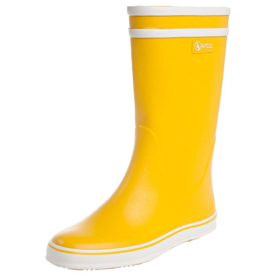 Aigle  MALOUINE - Kumisaappaat - keltainen  Zalando 49,95€