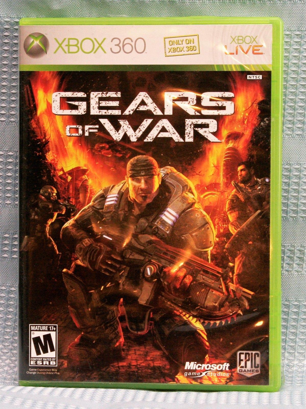 Gears of War (Microsoft Xbox 360, 2006) Gears of war
