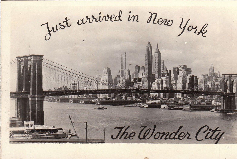 "Ellis Island New York Vintage Retro Travel Photo Fridge Magnet 2/""x3/"""