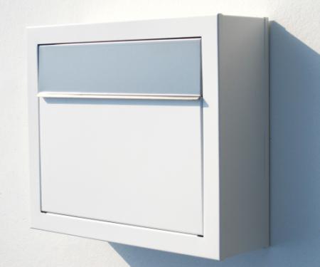Bravios Design Briefkästen   Briefkasten Elegance St. Opening in Weiß   Designbriefkästen online kaufen