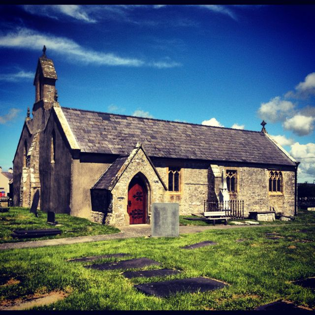 The church at Aberffraw. #anglesey