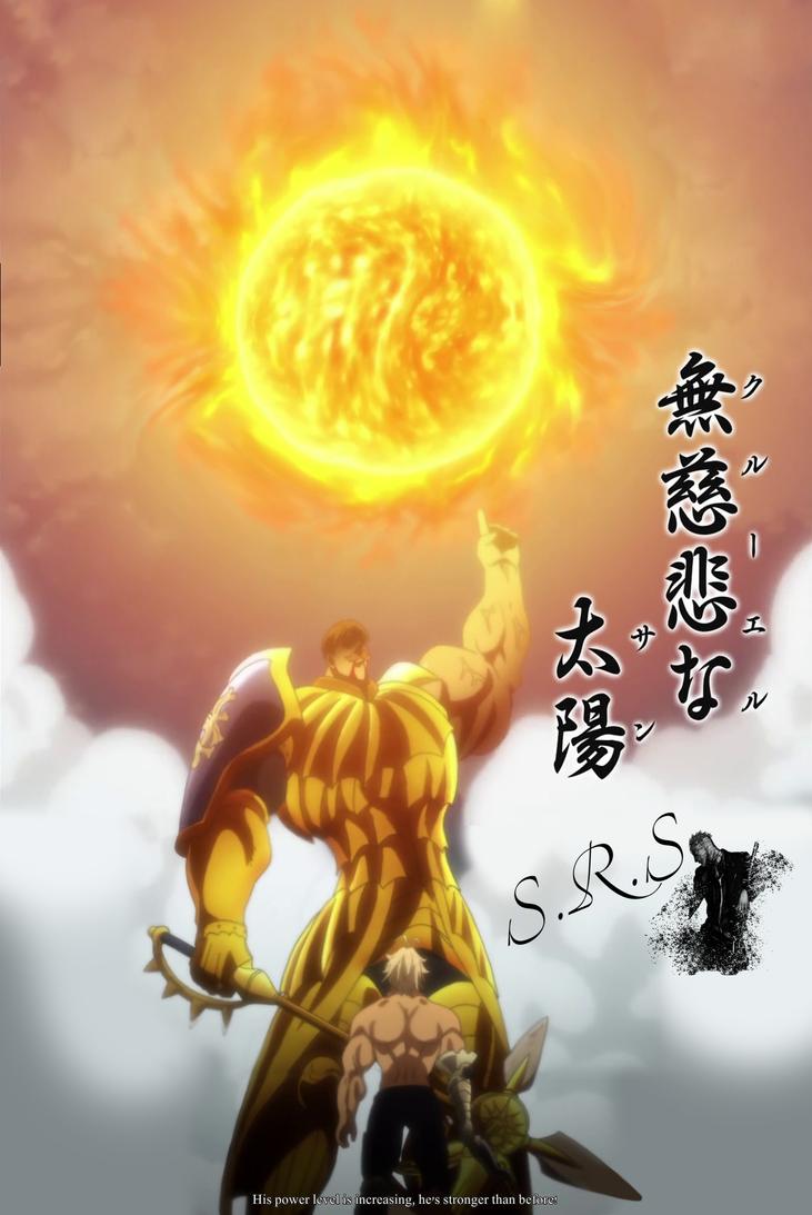 Escanor By Vergil04 Escanor Nanatsu Nanatsu No Taizai Manga