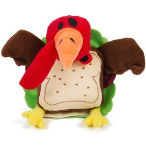 Silly Sandwiches Turkey Dog Toy He S Squeaky Crinkly And Ever
