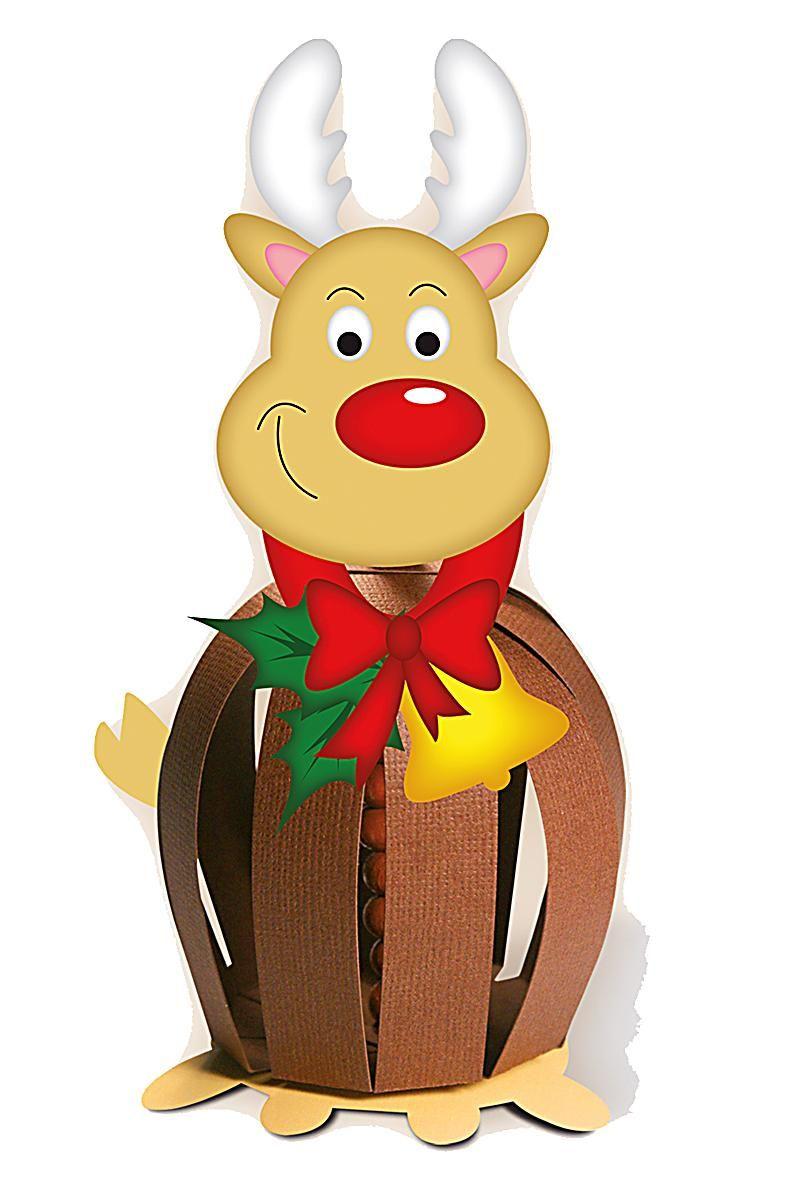 Pin by dina gyapay on paprgmbk pinterest paper balls paper balls beavers kirigami reindeer advent paper craft animals noel christmas jeuxipadfo Image collections