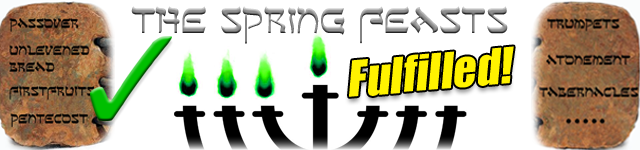 ARTICLE - The Spring Feasts Fulfilled! - Scottie Clarke - http://erfministries.com/spring_feasts_fulfilled.php