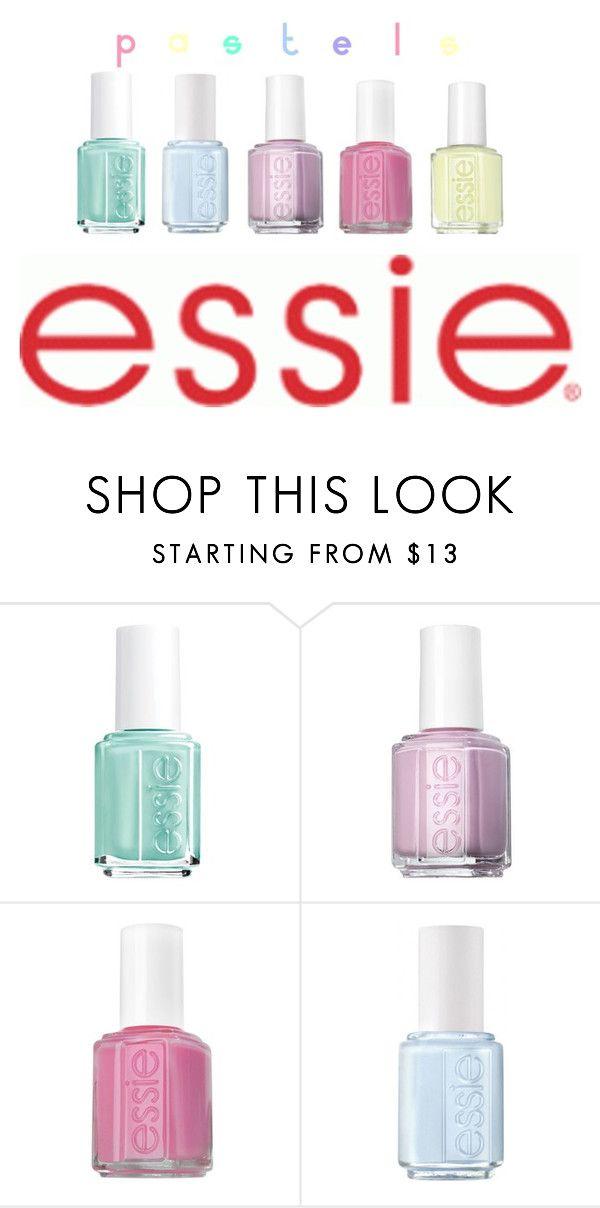 Pastel Essie Nail Polish \