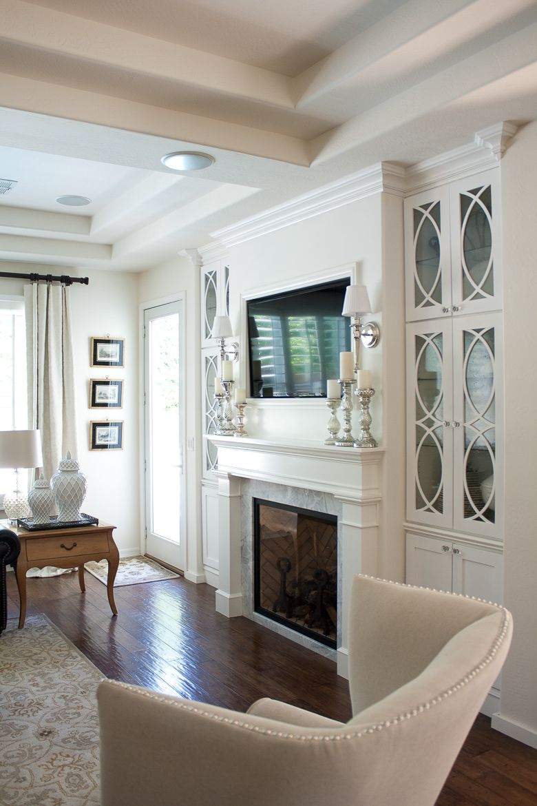 Home Tour | Traditional, Media wall unit and Wall unit designs