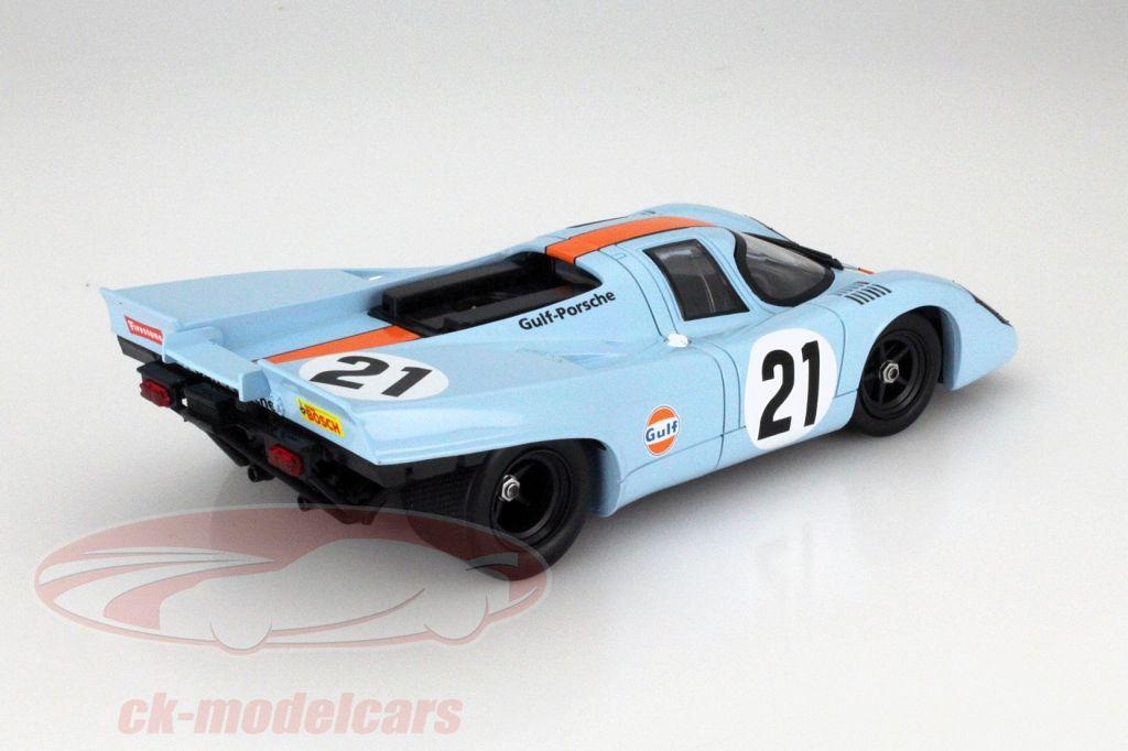 Porsche 917K #21 24h LeMans 1970 Rodriguez, Kinnunen 1:18 Norev