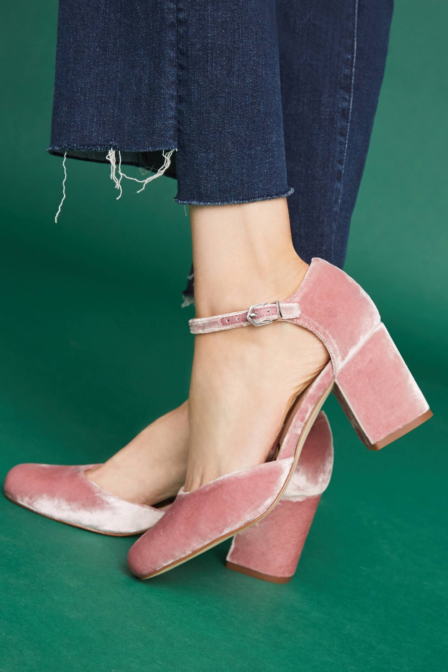 26870ae44 Shop the Sam Edelman Clover Block Heels and more Anthropologie at  Anthropologie today. Read customer reviews