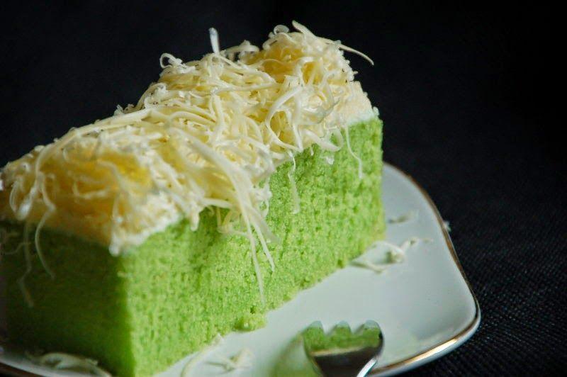 Resep Cheese Cake Kukus Ekonomis: Tips Trik Memasak: Resep Brownies Kukus Pandan Keju