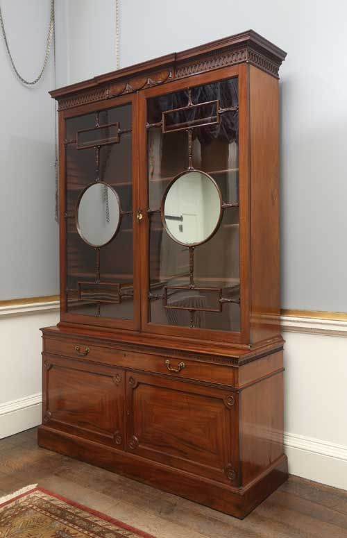 Best Chippendale Cabinet Georgian Furniture Harewood House 640 x 480