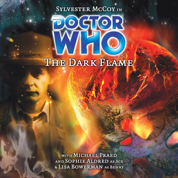 42, The Dark Flame. Starring Sylvester McCoy as the Doctor, Sophie Aldred as Ace and Lisa Bowerman as Bernice
