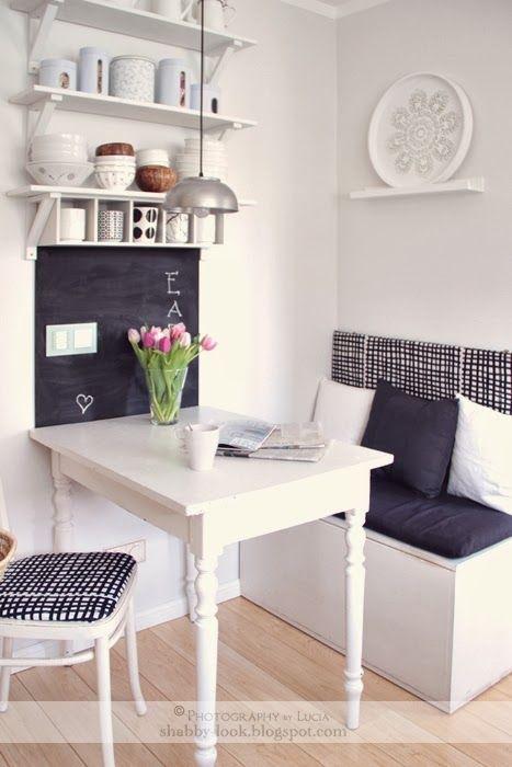 Letztes Wochenende bekamen die Wände in unserer Küche einen neuen - kleiner tisch küche
