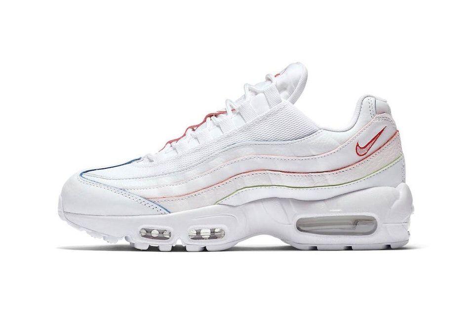 pio l'arcobaleno su su  white air max 95 scarpe