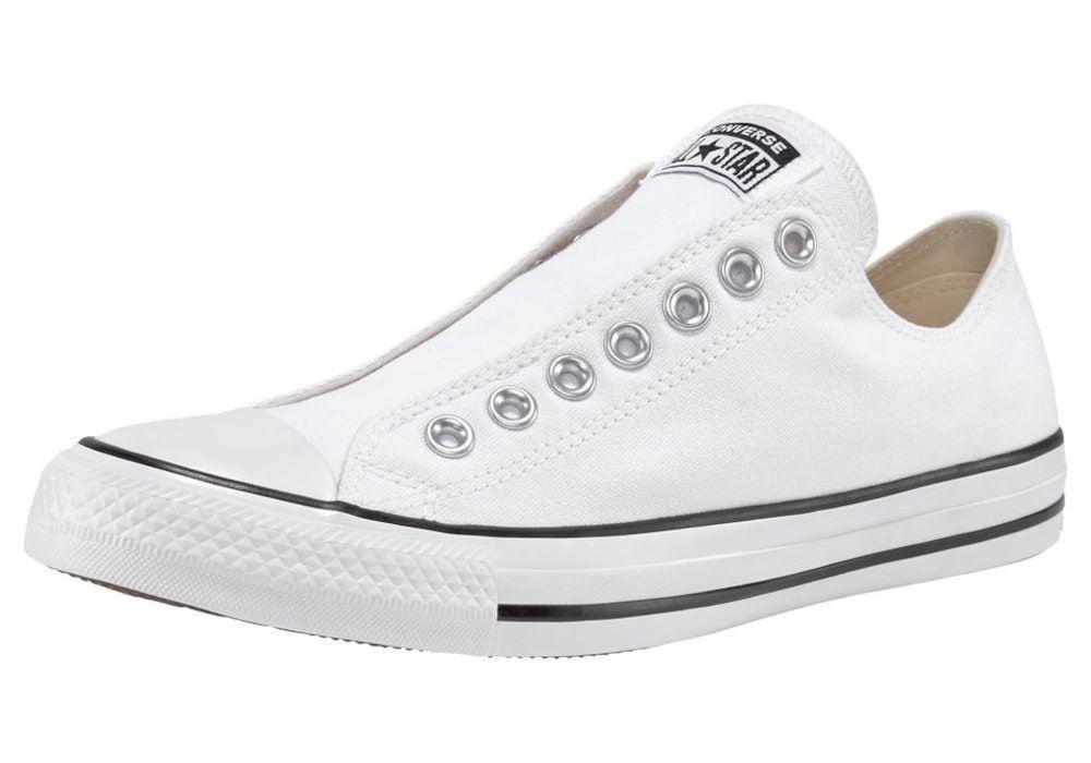Converse Sneaker Chuck Taylor All Star Slip Ox Damen Weiss Grosse 43 Whiteallstars Chuck Taylors Converse Sneakers