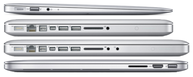 Compare Thickness Of Apple Macbook Pro Retina With Macbook Pro 13 15 And Air 13 In Actual Size You Apple Macbook Pro Retina Macbook Pro Retina Macbook Pro 13