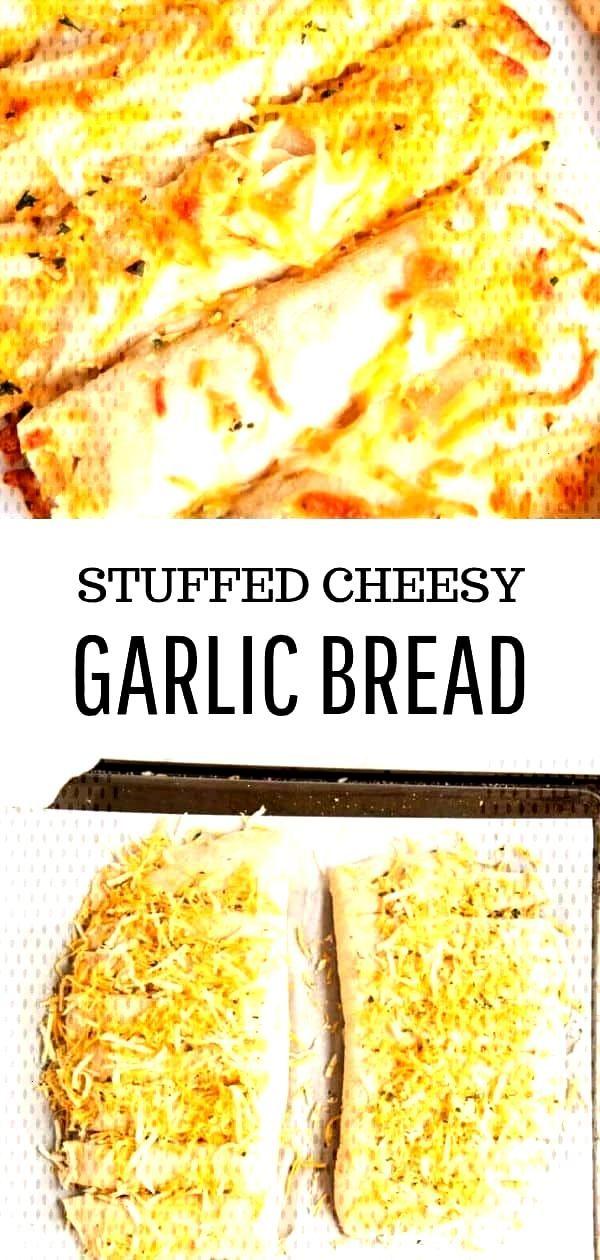 Stuffed Cheesy Garlic Bread Recipe - I Heart Naptime Cheesy Garlic Bread - Delicious homemade bread