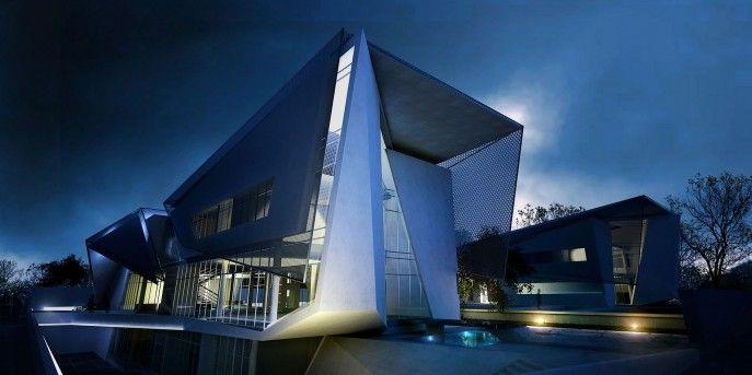 Architecture, Architecture Modern Villa Tritmonk Building Photo ...