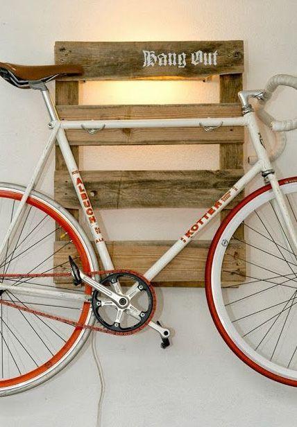 780c694ed Diy Bike Racks  14 Ways of Building Your Own Pallet Bike Rack ...