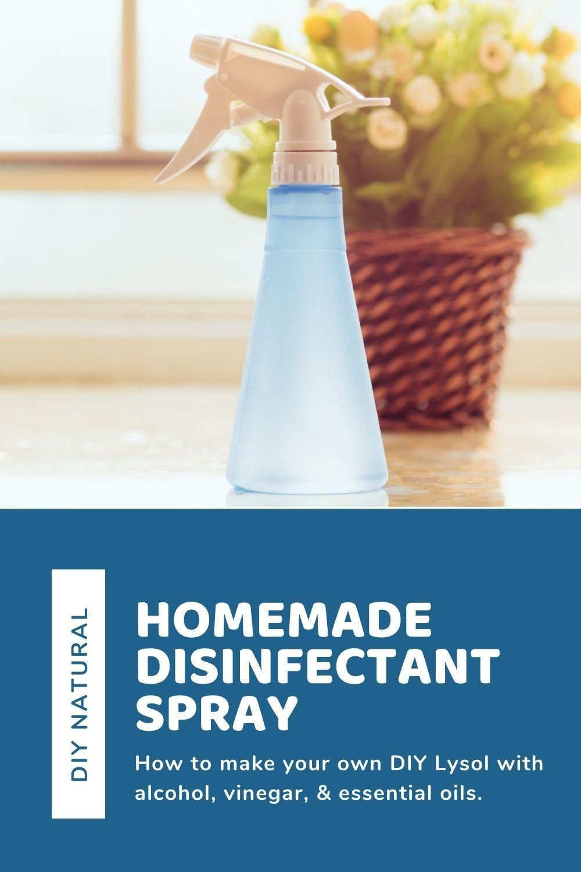 Disinfectant Spray DIY Recipe Disinfectant spray