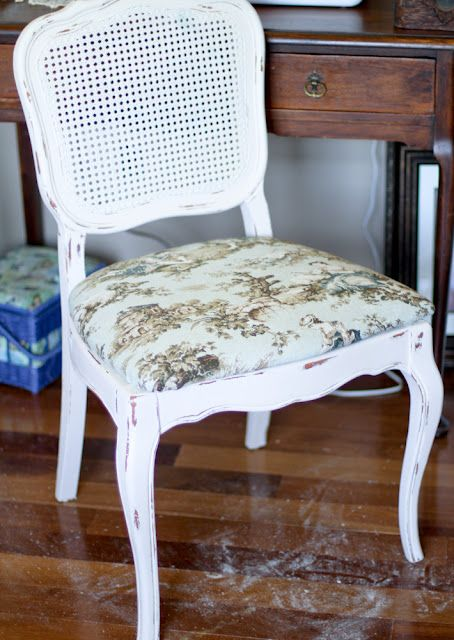 How to paint caned chairs my newest craigslist find for - Craigslist farm and garden louisville ...