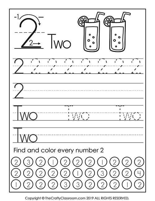 Writing Number Words Worksheets Kindergarten