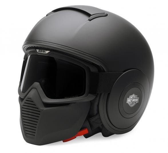 harley davidson swat helm matt schwarz spy ninja gear. Black Bedroom Furniture Sets. Home Design Ideas